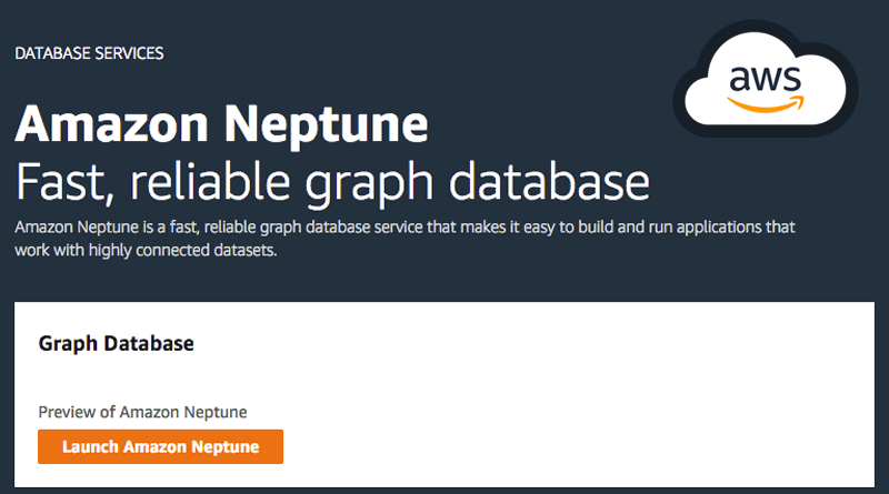 Amazon Announces Fully Managed Graph Database Service Neptune, Benefits of Amazon Neptune,Features of Amazon Neptune,What is Amazon Neptune,Amazon Neptune Graph Database,