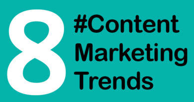 #Content Marketing Trends